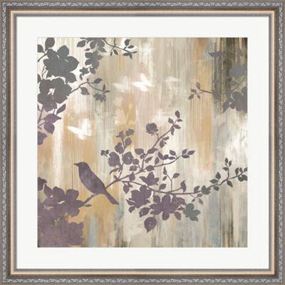 Metaverse Art Mist Foliage II Framed Wall Art
