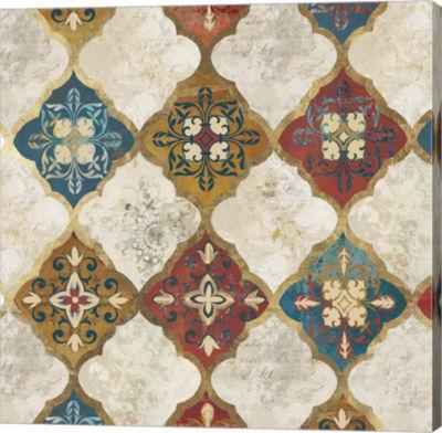 Metaverse Art Moroccan Spice Tiles II Canvas Art