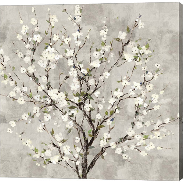 Metaverse Art Bloom Tree Canvas Art