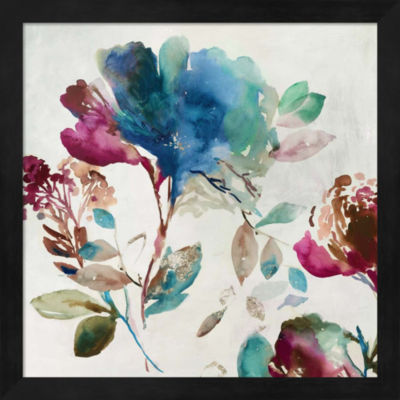 Metaverse Art Blossoming I Framed Wall Art