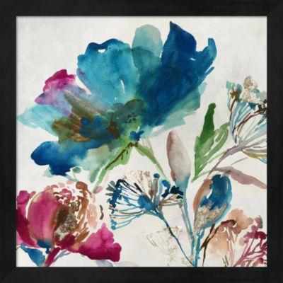 Metaverse Art Blossoming II Framed Wall Art