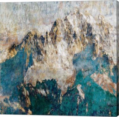 Metaverse Art Mountain II Canvas Art