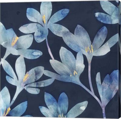 Metaverse Art Mystique Blue I Canvas Art