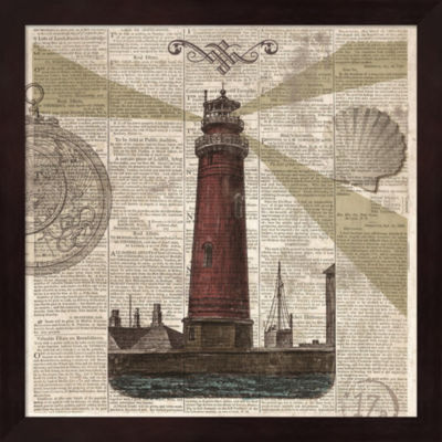 Metaverse Art Nautical Collection II Framed Wall Art