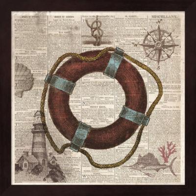 Metaverse Art Nautical Collection IV Framed Wall Art