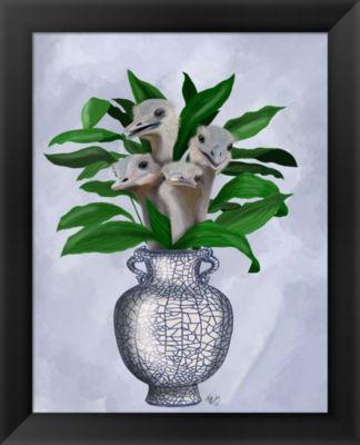Metaverse Art Strange Lillies Framed Wall Art