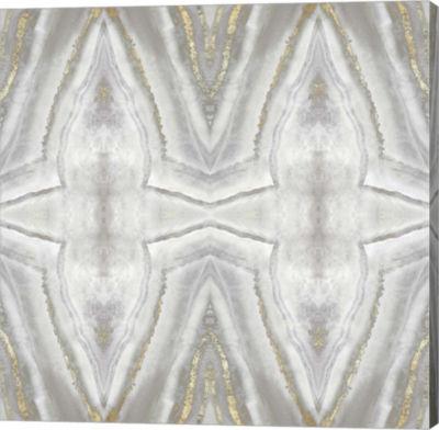 Metaverse Art Neutral Kaleidoscope II Canvas Art