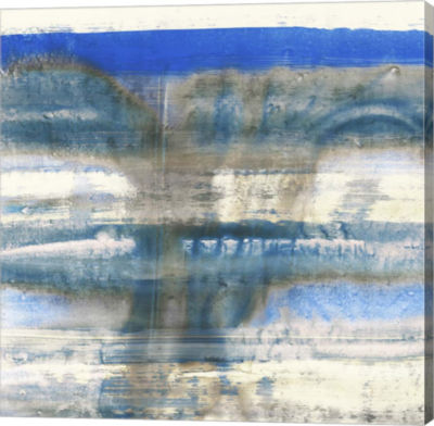 Metaverse Art Blue Swim I Canvas Art