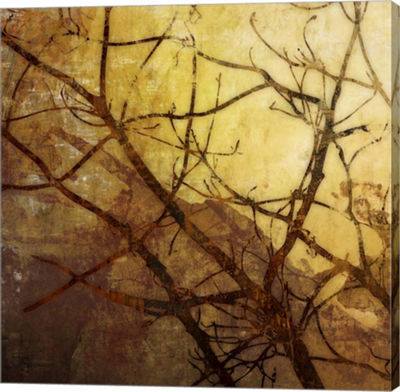 Metaverse Art Ombre Branches I Canvas Art