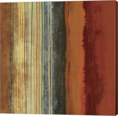 Metaverse Art Borders Canvas Art