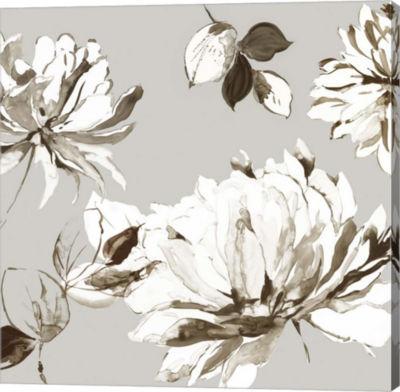 Metaverse Art Botanical Gray II Canvas Art