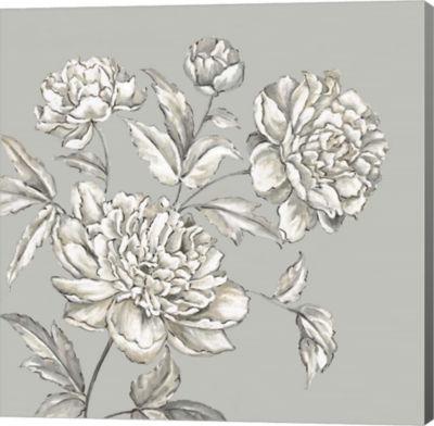 Metaverse Art Botanical I Canvas Art