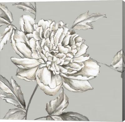 Metaverse Art Botanical II Canvas Art