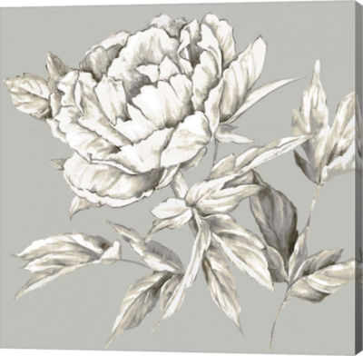 Metaverse Art Botanical III Canvas Art