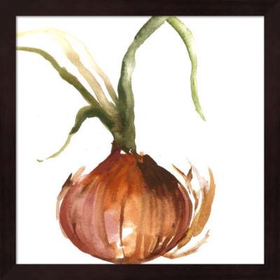Metaverse Art Onion Framed Wall Art