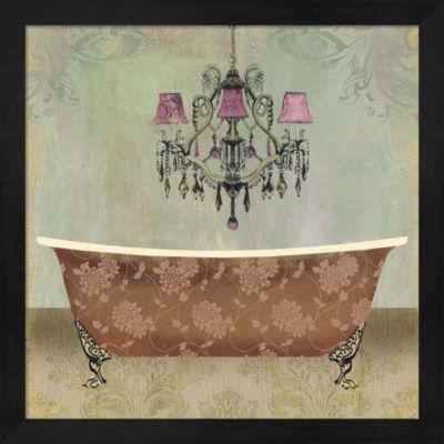 Metaverse Art Boudoir Bath I Framed Wall Art