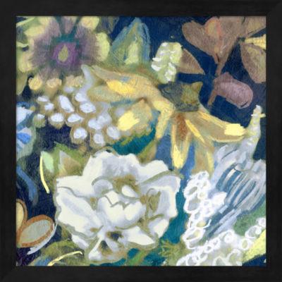 Metaverse Art Bouquet I Framed Wall Art
