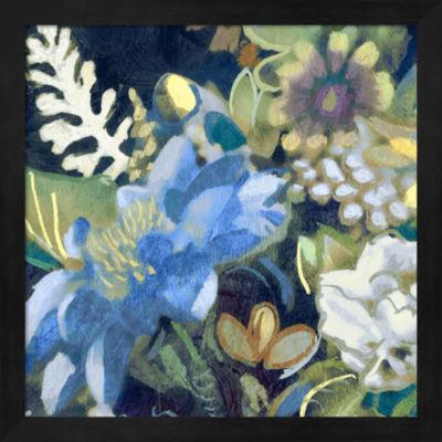 Metaverse Art Bouquet III Framed Wall Art