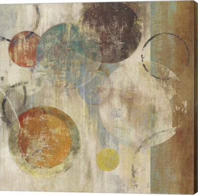 Metaverse Art Bubbles Canvas Art