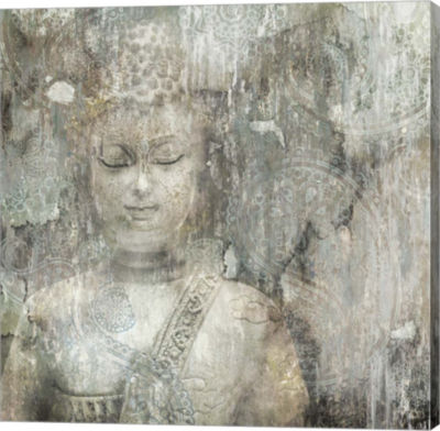 Metaverse Art Buddha Canvas Art