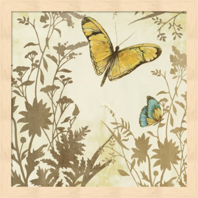 Metaverse Art Butterfly in Flight I Framed Wall Art