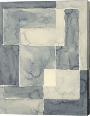 Metaverse Art Blockade II Canvas Wall Art