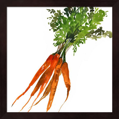 Metaverse Art Carrot Framed Wall Art