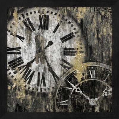 Metaverse Art Clockwork I Framed Wall Art