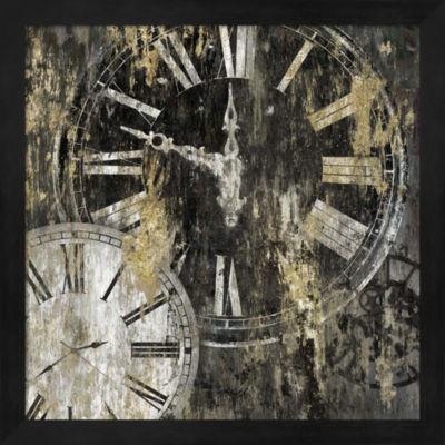 Metaverse Art Clockwork II Framed Wall Art