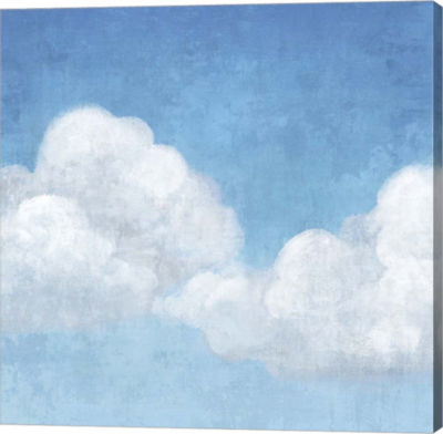 Metaverse Art Cloudy I Canvas Art