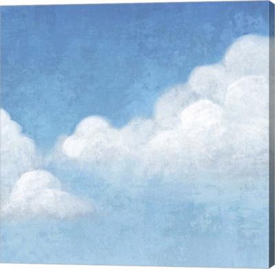 Metaverse Art Cloudy II Canvas Art