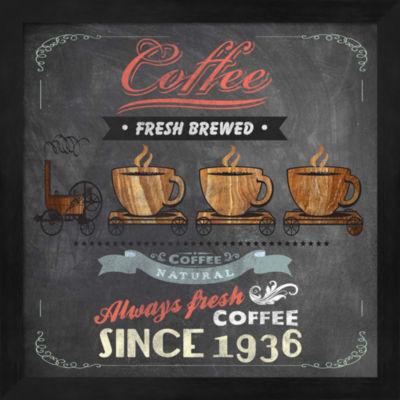 Metaverse Art Coffee Board II Framed Wall Art