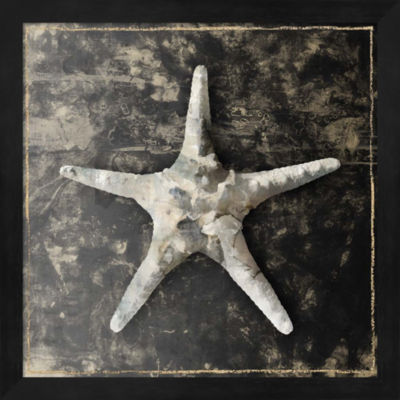 Metaverse Art Marble Shell Series III Framed WallArt