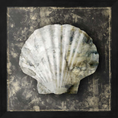Metaverse Art Marble Shell Series IV Framed Wall Art