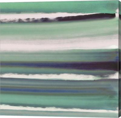 Metaverse Art Color Streak Canvas Art