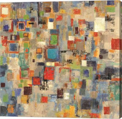 Metaverse Art Complexity Canvas Art