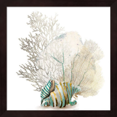 Metaverse Art Coral II Framed Wall Art