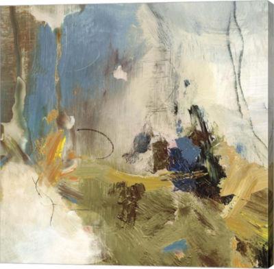 Metaverse Art Crashing Waves I Canvas Art