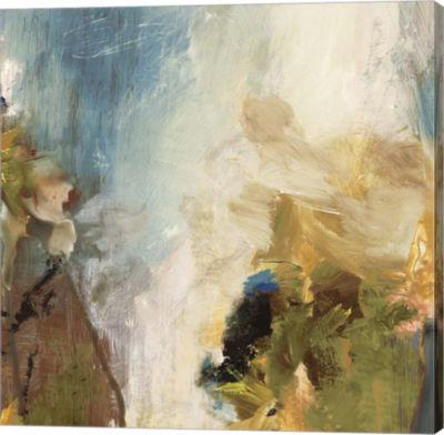 Metaverse Art Crashing Waves II Canvas Art