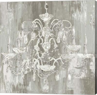 Metaverse Art Crystal Chandelier Canvas Art