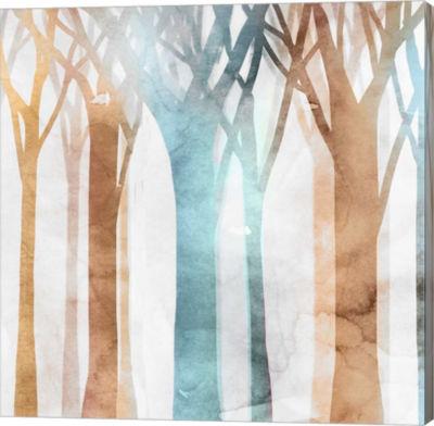 Metaverse Art Dancing Trees II Canvas Art