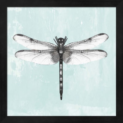 Metaverse Art Dragonfly I Framed Wall Art