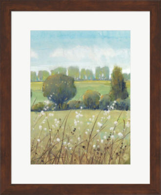 Metaverse Art Summer Breeze II Framed Wall Art