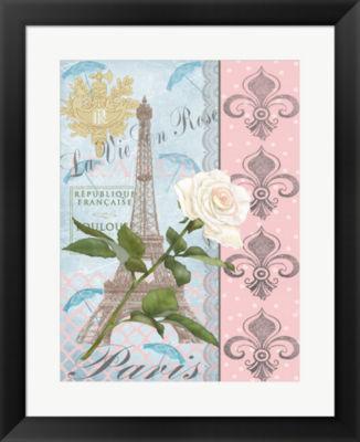 Metaverse Art La Vie en Rose I Framed Wall Art