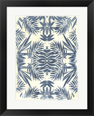 Metaverse Art Tropical Kaleidoscope III Framed Wall Art