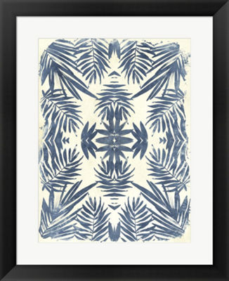 Metaverse Art Tropical Kaleidoscope IV Framed WallArt
