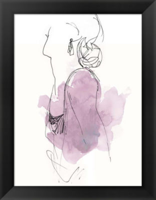 Metaverse Art Fashion Splash I Framed Wall Art