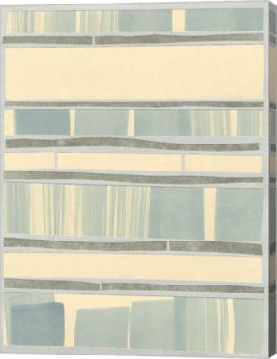 Metaverse Art Ocean Inlay I Canvas Wall Art
