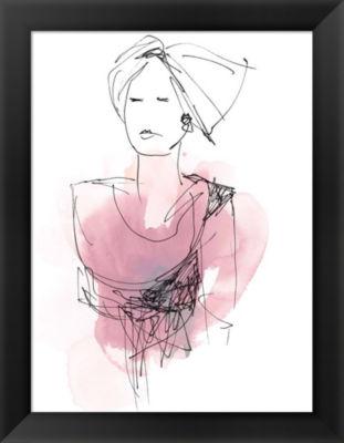 Metaverse Art Fashion Splash V Framed Wall Art