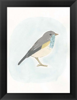 Metaverse Art Dapper Bird I Framed Wall Art